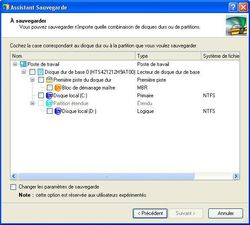 PC Cloneur Professionnel 2010 screen 2