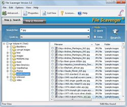 PC Inspector Smart Recovery screen1