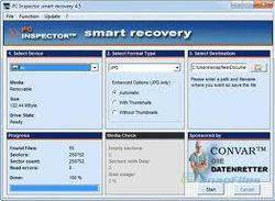 PC Inspector Smart Recovery screen2