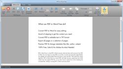 PDF to Word Free screen2