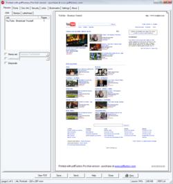 PdfFactory Pro screen 1