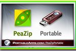 PeaZip Portable : compresser ou décompresser des fichiers aisément !