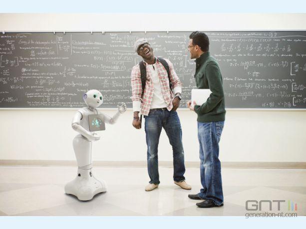 Pepper robot aldebaran émotions