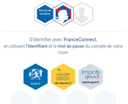 Persmis conduire France Connect