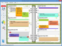 PersoApps Agenda screen1