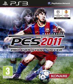 PES 2011 - jaquette PS3