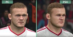 PES 2016 - comparatif PS4 PC - 2