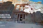 Contemplez le somptueux site de Petra dans Google Street View