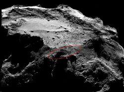 Philae comète