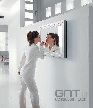 Philips t l viseur lcd et miroir for Televiseur miroir