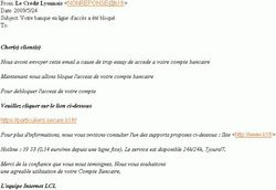 Phishing LCL mai 2009