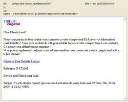 Phishing Neuf-SFR juillet Phishing Neuf SFR juillet 2