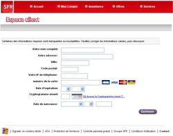 Phishing Neuf-SFR juillet Phishing Neuf SFR juillet 3
