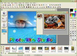 PhotoFiltre Studio X screen2