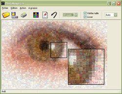 PhotoMosaique screen1.