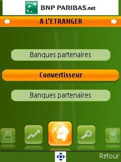 BNP Paribas A letranger