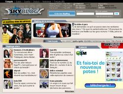 Skyblog ; capture 9 millions