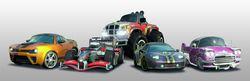 Burnout Paradise Toy Car