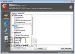 CCleaner 2.19.900 applications