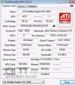 GPU-Z GPU-Z 0.2.2