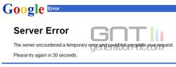 google-server-error