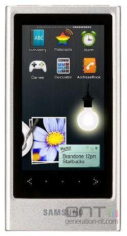 Samsung YP-P3 blanc
