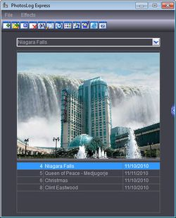 PhotosLog Express screen 2
