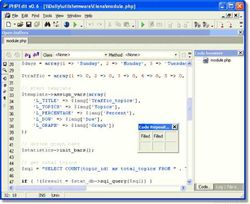 PHPEdit screen1