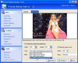 Picture_Resize_Genius screen 1