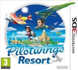 PilotWings Resort 3DS - jaquette française