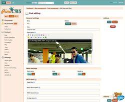 PinaCMS screen1