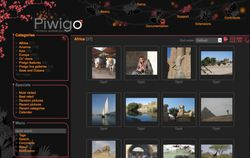 Piwigo screen2