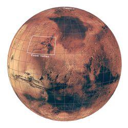 plaine inondable Mars Kasei