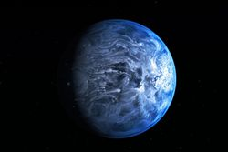 planète bleue  HD 189733b