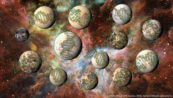 planètes habitables