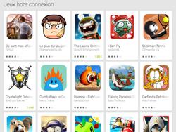 play store jeux hors connexion