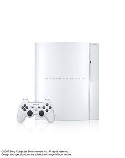 PlayStation 3 Ceramic White