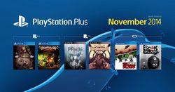 PlayStation Plus - jeux novembre 2014
