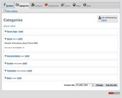 Plume CMS screen2