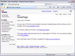 PmWiki screen2