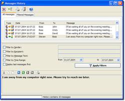 PopMessenger screen2