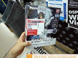 PowerColor Radeon HD 4670 boîte