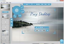 Prezi Desktop screen1