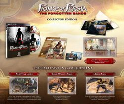 Prince of persia Les sables oubliés collector