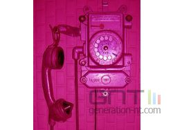 Prison telephone small
