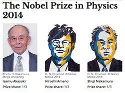 prix nobel physique 2014 LED