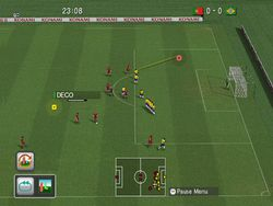 Pro Evolution Soccer 2008 Wii   Image 1