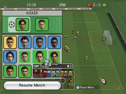 Pro Evolution Soccer 2008 Wii   Image 6