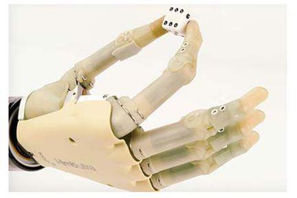 prothèse main robotique