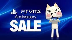PS Vita - anniversaire